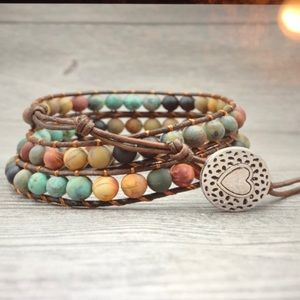 Jewelry - Vintage Leather Bracelet